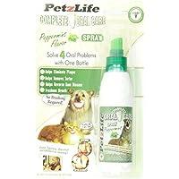 petzlife 891009completa oral care Spray Menta blister-package para mascotas, 4-Ounce por petzlife