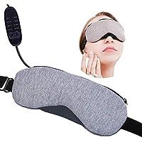 Beheizte Augenmaske, ANSUG USB Steam Sleep Eyeshade mit Timer/einstellbare Temperatur - für Eye SPA, Massage,... preisvergleich bei billige-tabletten.eu