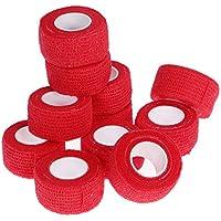 ROSENICE Medizinische kohäsive Bandagen selbsthaftend Wrap Tape Stretch sportlich stark elastisch Erste-Hilfe-Band... preisvergleich bei billige-tabletten.eu