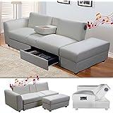 auf f r kleine eckcouch mit schlaffunktion und bettkasten. Black Bedroom Furniture Sets. Home Design Ideas