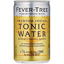 Fever-Tree Premium Indian Tonic Water Fridge-Pack, 3er Fridgepack, 24 (3x8) Dosen (24 x 150ml)