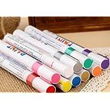 Paint Pens Paint Marker Set 12 Colors Fine Paint Oil Based Art Pen
