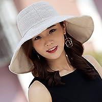 FQG*Cappelli invernali bambini colore puro sunscreen tappo tappo dello scambiatore di calore di grandi orlo ombrellone spiaggia CAPPELLI , Tempo Libero luce UV grigio