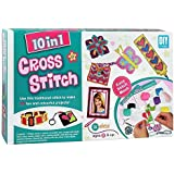 HALO NATION 10 in 1 Cross Stitch art and Craft kit for Girls