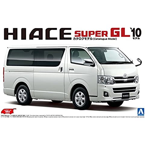 1/24 Il modello GT Series Best Car No.06 200 Hiace Super GL '10