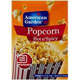 American Garden Microwave Popcorn, Hot N Spicy, 273g