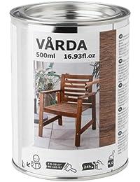 IKEA VARDA barniz para madera de colour marrón; Para al aire libre; ...