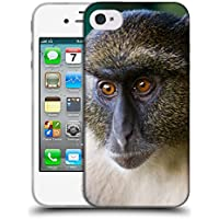 Super Galaxy Soft Flexible TPU Slim Fit Cover Case // V00003899 sykes monkey mount kenya // Apple iPhone 4 4S 4G