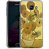 Samsung Galaxy A3 (2016) Housse Étui Protection Coque Vincent van Gogh Tournesols Art