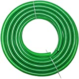 """TechnoCrafts PVC Braided Water Hose For Plumbing 15 Meter (50 Feet) 3/4"""" (0.75 Inch Or 19mm) Bore Size - 3 Layered Hose Pipe"""