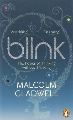 Buchseite und Rezensionen zu 'Blink: The Power of Thinking Without Thinking' von Malcolm Gladwell