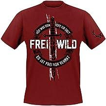 """Frei.Wild - """"Frei von Verrat"""" T-Shirt, Farbe: Rot"""