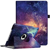 Fintie iPad 9.7 2018 2017 / iPad Air 2 / iPad Air Case - 360 Degree Rotating Stand Protective Cover with Auto Sleep Wake for Apple iPad 9.7 6th 5th Gen, iPad Air 1 2, Galaxy
