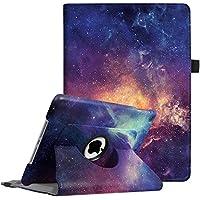 Fintie Apple Nuovo iPad 9.7 Pollici 2018 2017 / iPad Air 2 / iPad Air Cover in PU Pelle - Girevole 360 gradi di Rotazione Custodia Protettiva Case con Auto Sveglia/Sonno Funzione, Galaxy