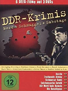 DDR Krimis (6 Filme - 3 DVDs / Razzia, Treffpunkt Aimee, Schwarzer Samt, Leichensache Zernik, Für Mord kein Beweis, Die Beteili