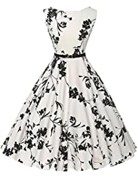 E-Girl M126118D Robe de bal Vintage pin-up 50's Rockabilly robe de soirée cocktail,S-XXXXL