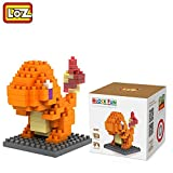 #7: Pokemon Series Diamond Building Blocks Puzzle Action Figure 3D Bricks Learning Education Toys (Charmander)