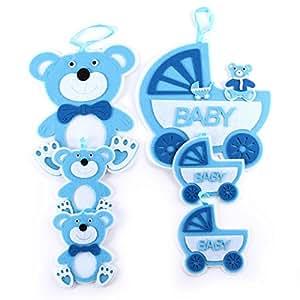 Babyset Blau Bar Aus Filz Knuellermarkt De Babyzimmer Jungen