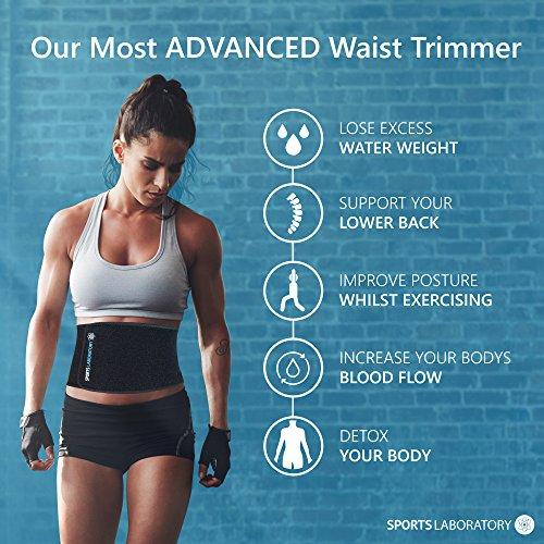Zoom IMG-1 sports laboratory fascia dimagrante cintura