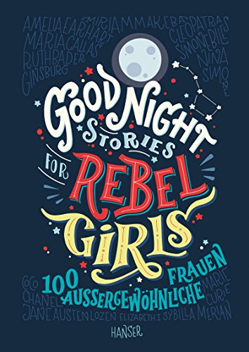 Buchseite und Rezensionen zu 'Good Night Stories for Rebel Girls' von Elena Favilli