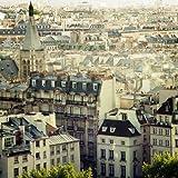 feelingathome. IT, Druck auf Leinwand 100% Baumwolle Galerie Paris Calling cm 85x 85(Abmessungen personalisierbar auf Anfrage)