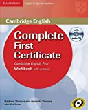 Complete First Certificate for Spanish Speakers Workbook with Answers with Audio CD