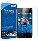 JETech® Tempered Glass Screen Protector Retail Packaging for Apple iPhone 4/4S