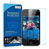 JETech Apple iPhone 4 4S Gehärtetem Glas Panzersglas 9H Displayschutzfolie Displayschutz Schutzfolie Screen Protector