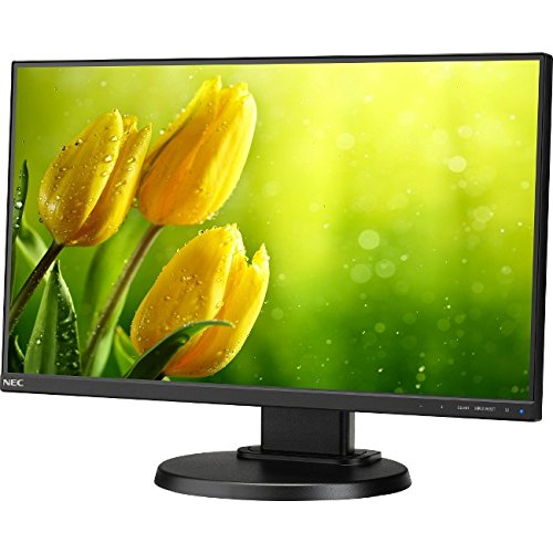 NEC E221N-BK - E221N BK - 2222' 3-Sided Narrow Bezel: LCD Monitor with LED Backlight: IPS Panel: Resolution 1920x1080: DisplayPort: HDMI: DSUB 110 mm Height Adjustable (Manufacturer's SKU:60004224)' Narrow Bezel