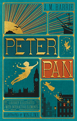 Peter Pan (Illustrated with Interactive Elements) (Harper Design Classics)