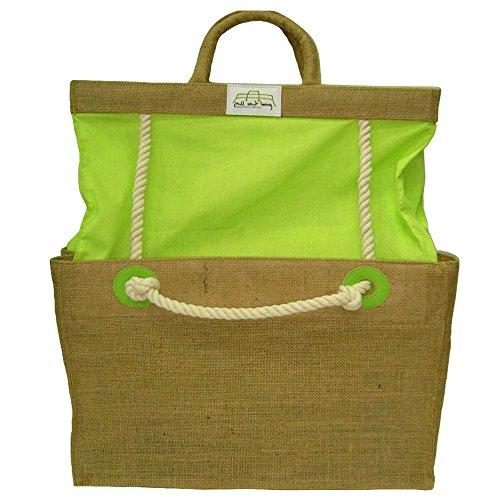 PULL OUT BAG ® Sac Extensible Modulkurse - Ecologique: toile de jute et coton