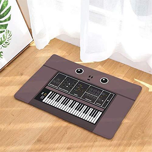 Art Retro Tastatur fußmatte büro Foyer Halle Eingang bodenmatte Schlafzimmer Carpet Home küche Teppich badematte -