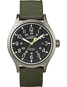 Timex Unisex-Armbanduhr Expedition Scout Analog Quarz Nylon T49961