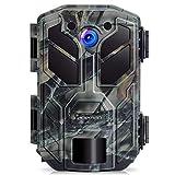 APEMAN Fotocamera Wildkamera 20MP 1080P con Visione Notturna a infrarossi Fino a 65 piedi/20 m IP66 Spray Impermeabile per Esterni Natura, Giardino, sorveglianza di Sicurezza della Pelle