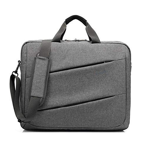 OWO 17,3 Zoll Laptop- und Tablet-Tasche Classic Clamshell Laptop Case, Grau -