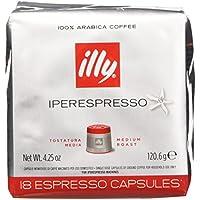 illy Caffè Iperespresso, Caffè Espresso In Capsule, Tostatura Media - 6 confezioni da 18 capsule  (totale 108 capsule)