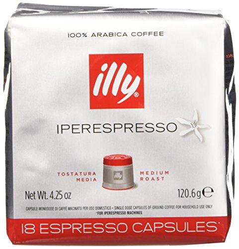 illy Caffè 7952, 108 Cialde Capsule Caffe' Illy Iperespresso TOSTATO CLASSICO Ex Tostatura Media