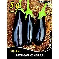 Patlıcan Tohumu Kemer 27-5 g (~ Takribi 1000 Tohum)