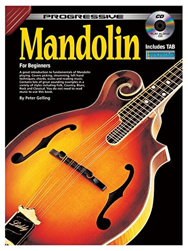 Progressive Mandolin for Beginners. Für Mandoline Progressive Mandoline