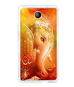 CRAZYMONK DIGITAL PRINTED BACK COVER FOR MICROMAX Q386