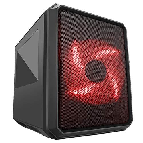 ITek QBO 8 Cubo Negro - Caja de Ordenador Cubo
