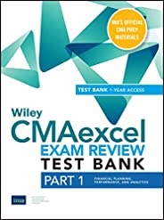 Wiley CMAexcel Learning System Exam Review 2020: Part 1, Financial Planning, Performance, and Analytics Set (1