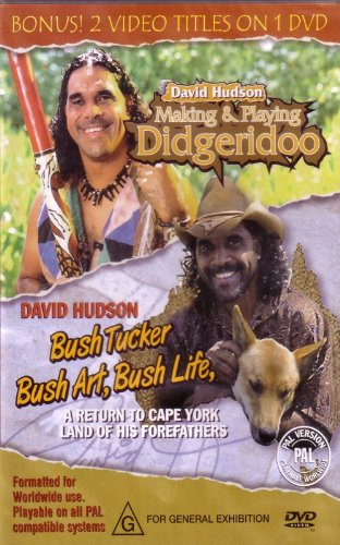 Making & Playing Didgeridoo - Bush Tucker, Bush Art, Bush Life (Hudson Elektronik)