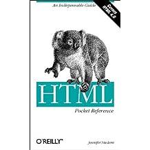 HTML Pocket Reference (Pocket Reference (O'Reilly)) by Jennifer Niederst Robbins (1999-12-11)