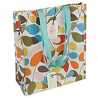 Reusable Eco-friendly Shopper Bags - Choice Of Floral Design ( dotcomgiftshop Branded Vintage Ivy )