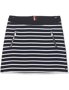 Tommy Hilfiger Mädchen Rock Ame Bi Stripe Skirt
