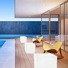 Cubo - Asiento / Mesa con luz LED - SUPER OFERTA - ANTES 86 euros AHORA POR SOLO 75 euros