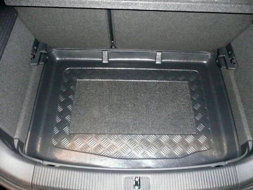 Maletero con antideslizante, apta para Audi A1de 3puertas 09/2010de inferior ladefläche