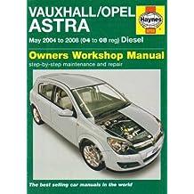 Vauxhall/Opel Astra Diesel (04-08) of Mead, J.S. on 31