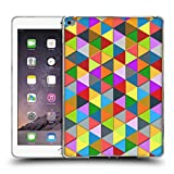 Head Case Designs Offizielle PLdesign Dreieck Farbig Geometrisch Soft Gel Hülle für iPad Air 2 (2014)